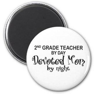 Devoted Mom - 2nd Grade Magnet