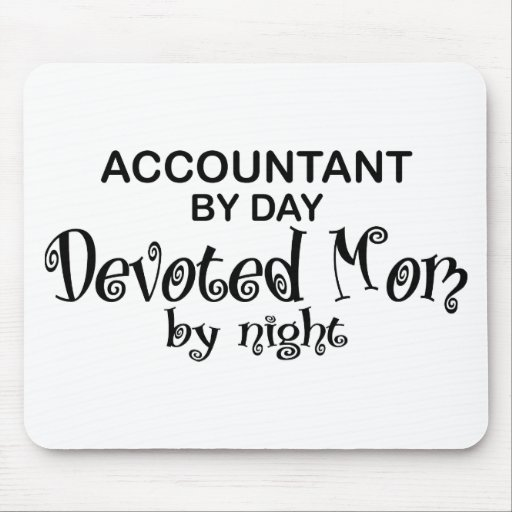 Devoted Mom - Accountant Mouse Pad