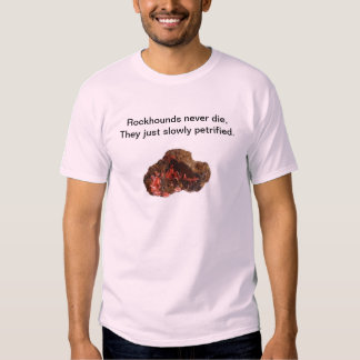 Devoted to Rockhounders all over the World ! T-Shirt