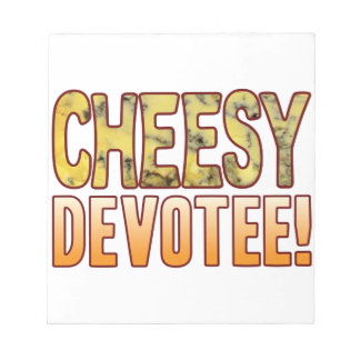 Devotee Blue Cheesy Notepad
