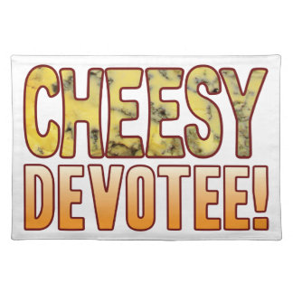 Devotee Blue Cheesy Placemat