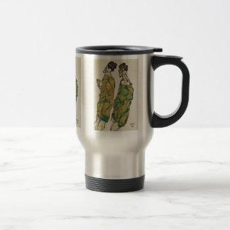 Devotion By Schiele Egon Mugs