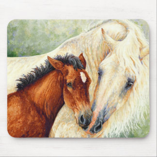 Devotion - Mare and Foal Mousepad