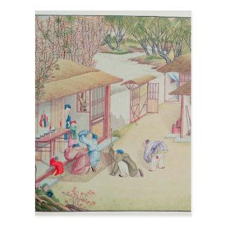 Devotion Scene Postcard