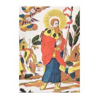Devotional Prayer to St. James Canvas Print