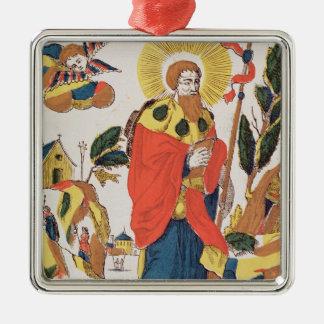 Devotional Prayer to St. James Metal Ornament