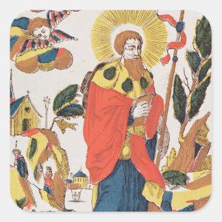 Devotional Prayer to St. James Square Sticker