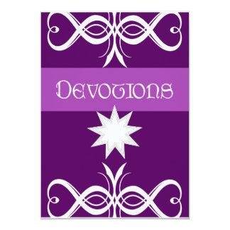 Devotions Invitation
