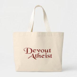 Devout Atheist Large Tote Bag