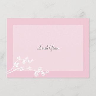 Devout Personalized Notecard