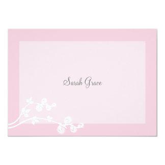 Devout Personalized Notecard 4.5x6.25 Paper Invitation Card