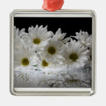 Dew and Daisies Ornaments