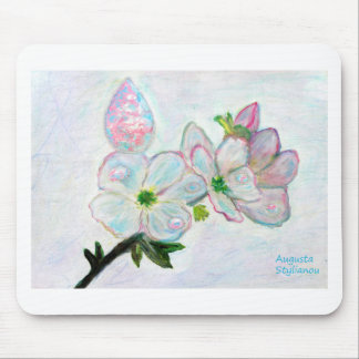 Dew and Smell of Almond Flowers Mouse Pad
