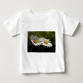 Dew Bejeweled Ox-eye Daisy Wildflowers Baby T-Shirt