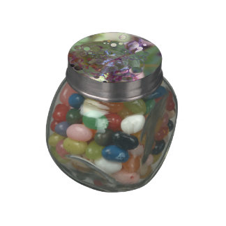Dew Circles Jelly Belly Candy Jars