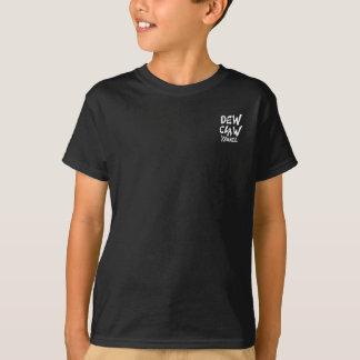 """Dew Claw Boys Ruff n Rugged """"Dark Chocolate"""" T-Shirt"""