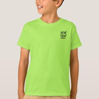 """Dew Claw Boys Ruff n Rugged """"Lime"""" T-Shirt"""