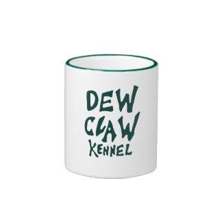 Dew Claw Kennel Hunter Green Logo Mug