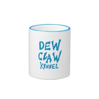 Dew Claw Kennel Light Blue Logo Mug