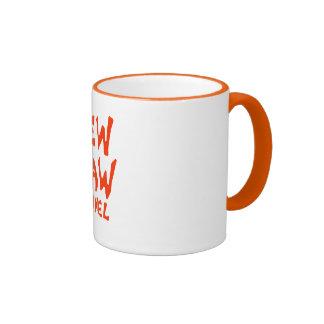 Dew Claw Kennel Logo Orange Mug
