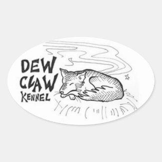 Dew Claw Kennel Stickers