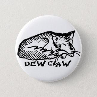 Dew Claw Sleeping Dog Button