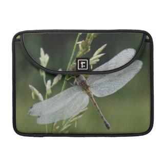 Dew covered Darner Dragonfly MacBook Pro Sleeve