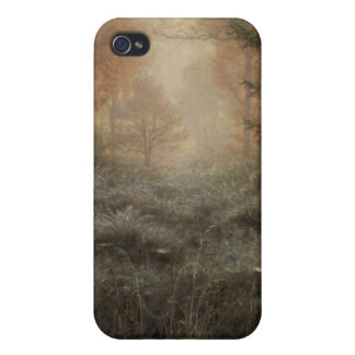 Dew Drenched Furze - John Everett Millais iPhone 4 Cover