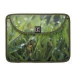 Dew Drop Grass Macbook Pro Rickshaw sleeve Sleeve For MacBooks