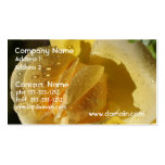 Dew Drop Yellow Rose Business Cards
