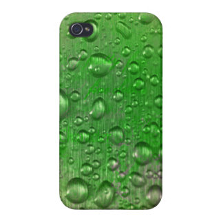 Dew drops iPhone 4 Glossy Finish Case