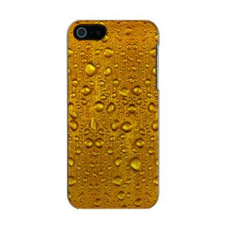 Dew drops iPhone 5/5s Feather® Shine, Gunmetal Metallic iPhone SE/5/5s Case