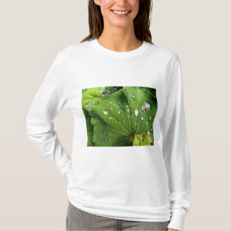 Dew Drops On A Leaf T-Shirt