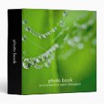 Dew Drops Photo Book Binder