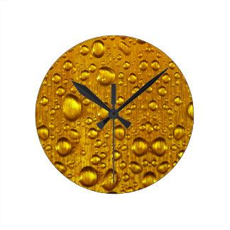 Dew drops Round (Medium) Wall Clock