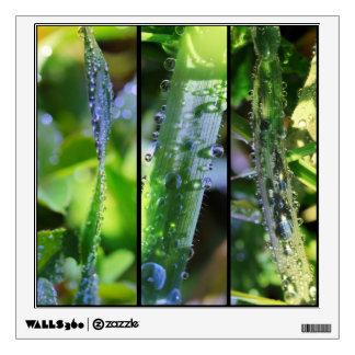 Dew drops wall sticker