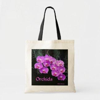 Dew-Kissed Orchids Canvas Bag