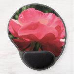 Dew Kissed Rose Gel Mouse Pad