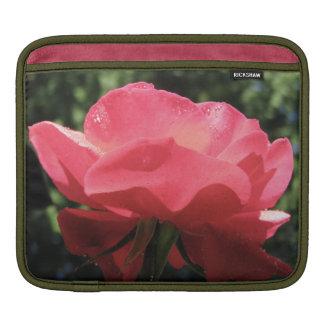 Dew Kissed Rose iPad Sleeves