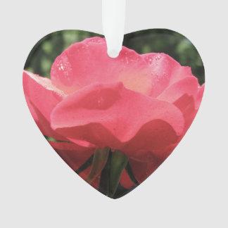 Dew Kissed Rose Ornament