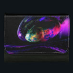 """Dew of a Rainbow Leather Wallet For Women<br><div class=""""desc"""">Dew of a Rainbow</div>"""