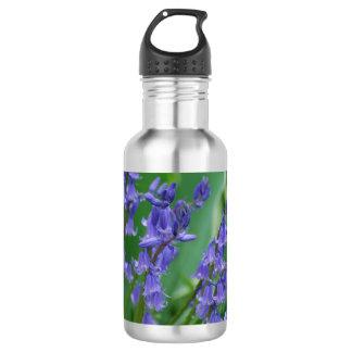 Dew on Bell Flowers Stainless Steel Water Bottle