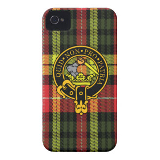 Dewar Scottish Crest and Tartan iPhone 4 Case