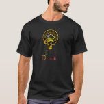 Dewar Scottish Crest Tartan Clan Name Clothes T-Shirt
