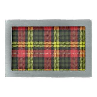 Dewar Scottish Tartan Belt Buckle
