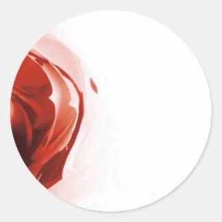 Dewdrop Classic Round Sticker