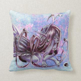 Dewdrop Elf Throw Pillows