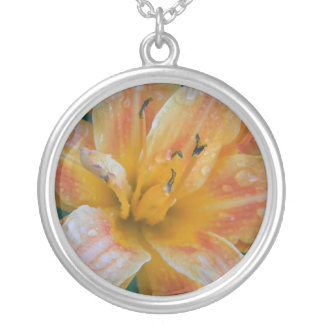 Dewed Tiger Lily Necklace