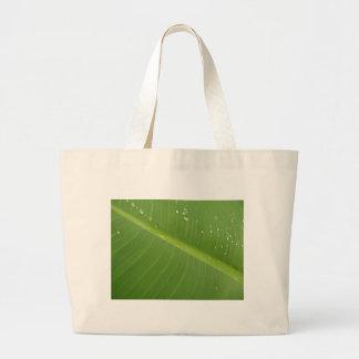 Dewey Banana Leaf 1 Tote Bags
