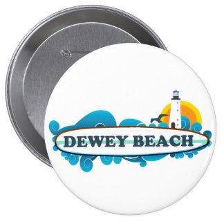Dewey Beach Pinback Button